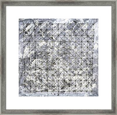 Nailed It Series No 20 Framed Print by Sumit Mehndiratta