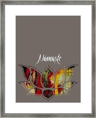Namaste Framed Print by Marvin Blaine