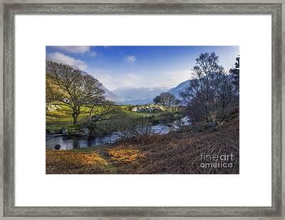 Nant Ffrancon Pass Framed Print by Ian Mitchell