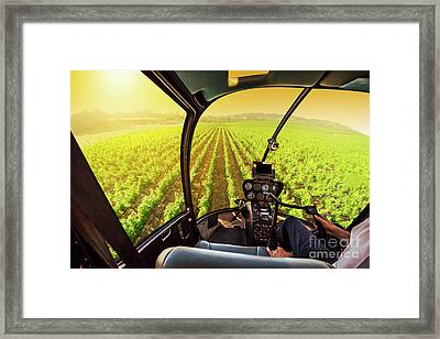 Napa Valley Scenic Flight Framed Print