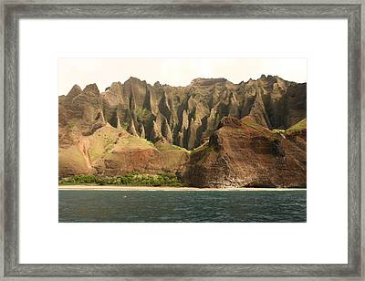 Napali Coast Framed Print by Andrei Fried