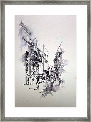 Naqsh School Of Arts Framed Print by M Kazmi