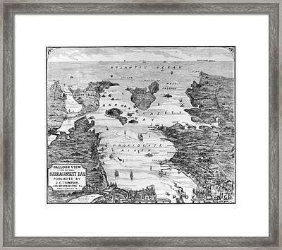 Narragansett Bay, C1880 Framed Print by Granger