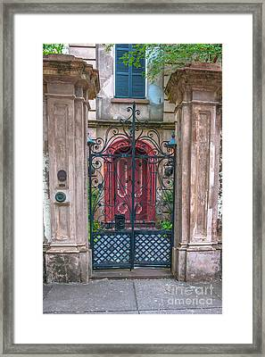 Narrow Is The Gate Framed Print