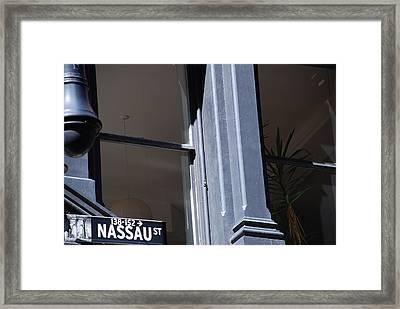 Nassau Street Framed Print by Rob Hans