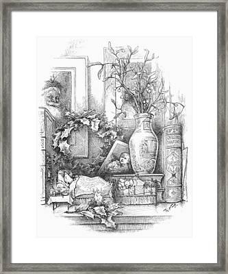 Nast: Christmas Framed Print by Granger