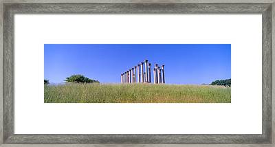 National Capitol Columns, National Framed Print