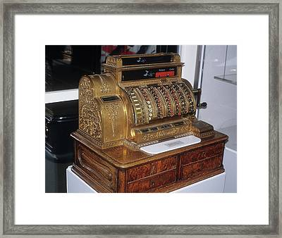 National Cash Register Framed Print