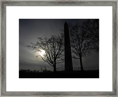 National Shadow Framed Print