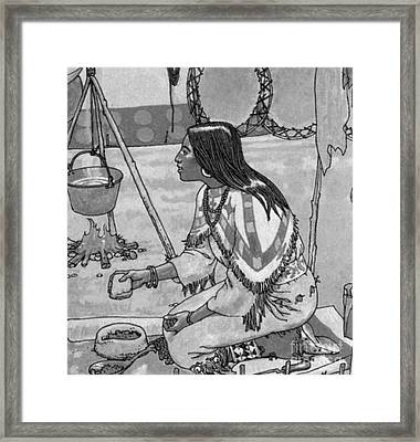 Native American Medicine Framed Print by Science Source