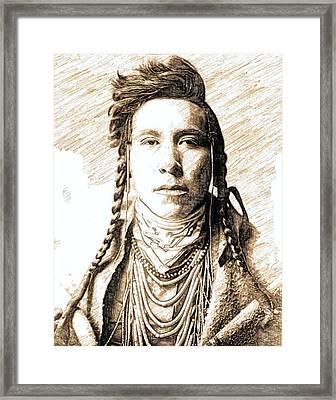 Native Pride Framed Print by John Springfield