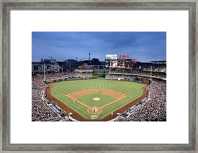 Nats Park - Washington Dc Framed Print by Brendan Reals