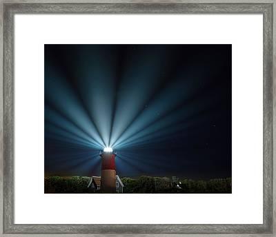 Nauset Beach Light 2015 Framed Print