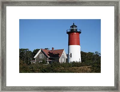 Nauset Lighthouse Framed Print
