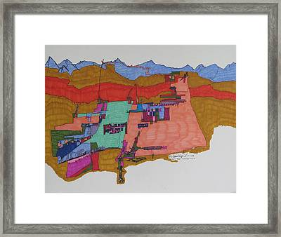 Nazareth Framed Print by James SheppardIII
