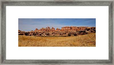 Needles At Canyonlands Framed Print