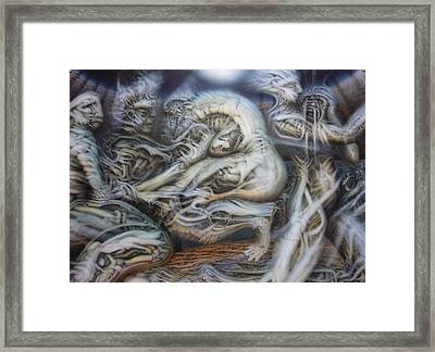 Neglect Framed Print by David Frantz