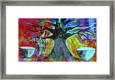 Neighbor - Voisin Framed Print