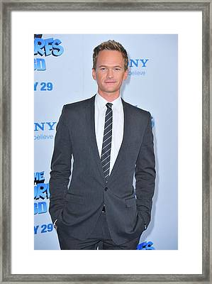 Neil Patrick Harris At Arrivals For The Framed Print