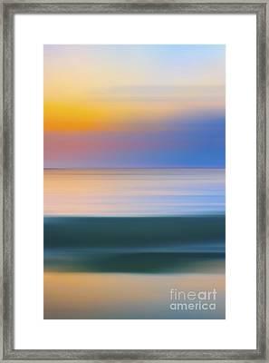 Neptune Step - 3 Of 3 Framed Print by Sean Davey