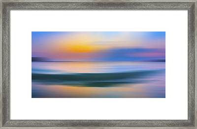 Neptune Step Framed Print by Sean Davey
