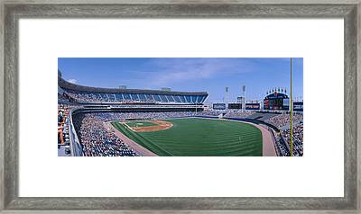 New Comiskey Park, Chicago, White Sox Framed Print by Panoramic Images