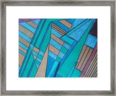 New Egyptian Framed Print by Modern Metro Patterns and Textiles