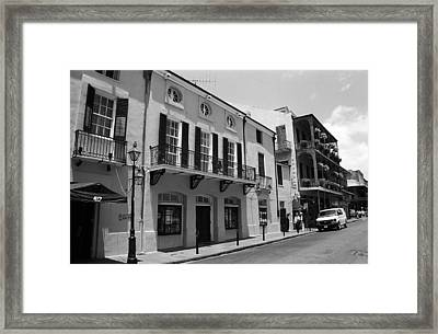 New Orleans Framed Print by Frank Romeo