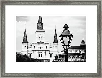 New Orleans Landmark Framed Print
