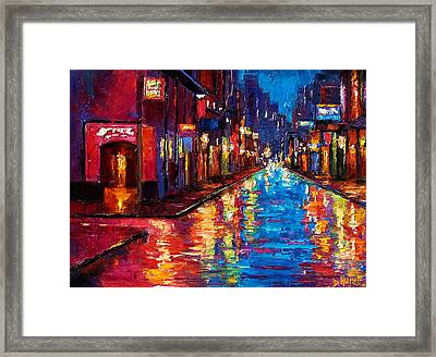 New Orleans Magic Framed Print