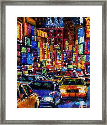 New York City Framed Print by Debra Hurd