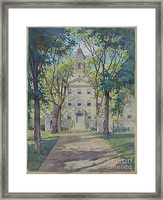 New York City Hospital Framed Print by Gilbert Sackerman
