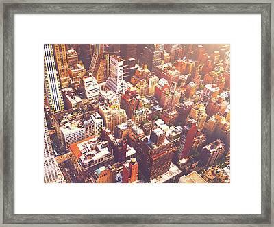 New York City Summer Framed Print