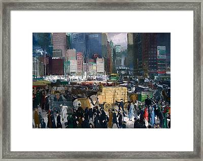 New York Framed Print by Mountain Dreams