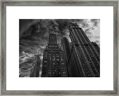 New York Highrise Framed Print