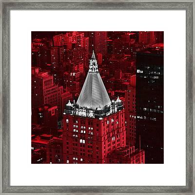 New York Life Building Framed Print