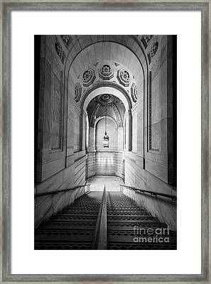 New York Public Library Framed Print by Inge Johnsson