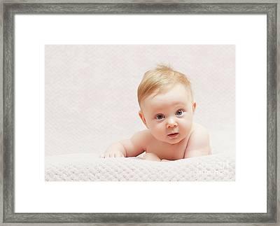 Framed Print featuring the photograph Newborn Fine Portrait by Gualtiero Boffi