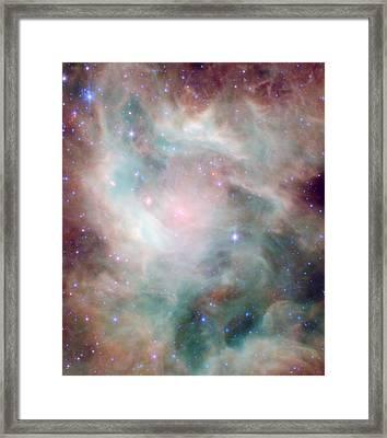 Newborn Stars Framed Print by American School