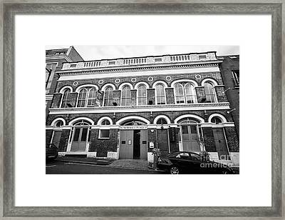 newhall place and the vaults bar and restaurant Birmingham UK Framed Print by Joe Fox