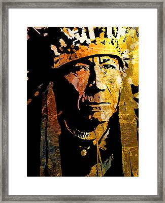 Nez Perce Chief Framed Print