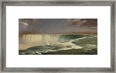 Niagara Framed Print by Sleeping Muse Media