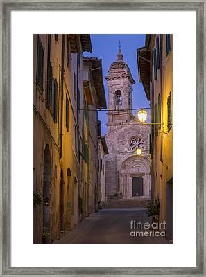 Night Church Framed Print