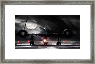 Night Moves Framed Print by Peter Chilelli
