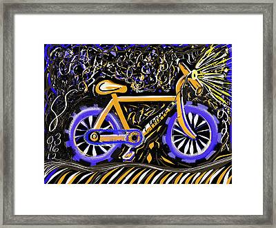 Night Ride II Framed Print by Colleen Proppe