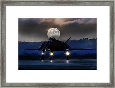 Night Stalker Framed Print by Peter Chilelli
