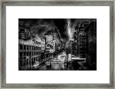 Night Terror Framed Print by Ractapopulous