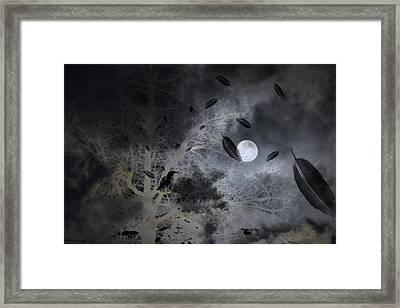 Surreal Art Night Vision I Framed Print