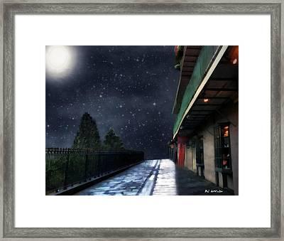 Nightwalk Framed Print by RC deWinter