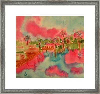 Nile Framed Print